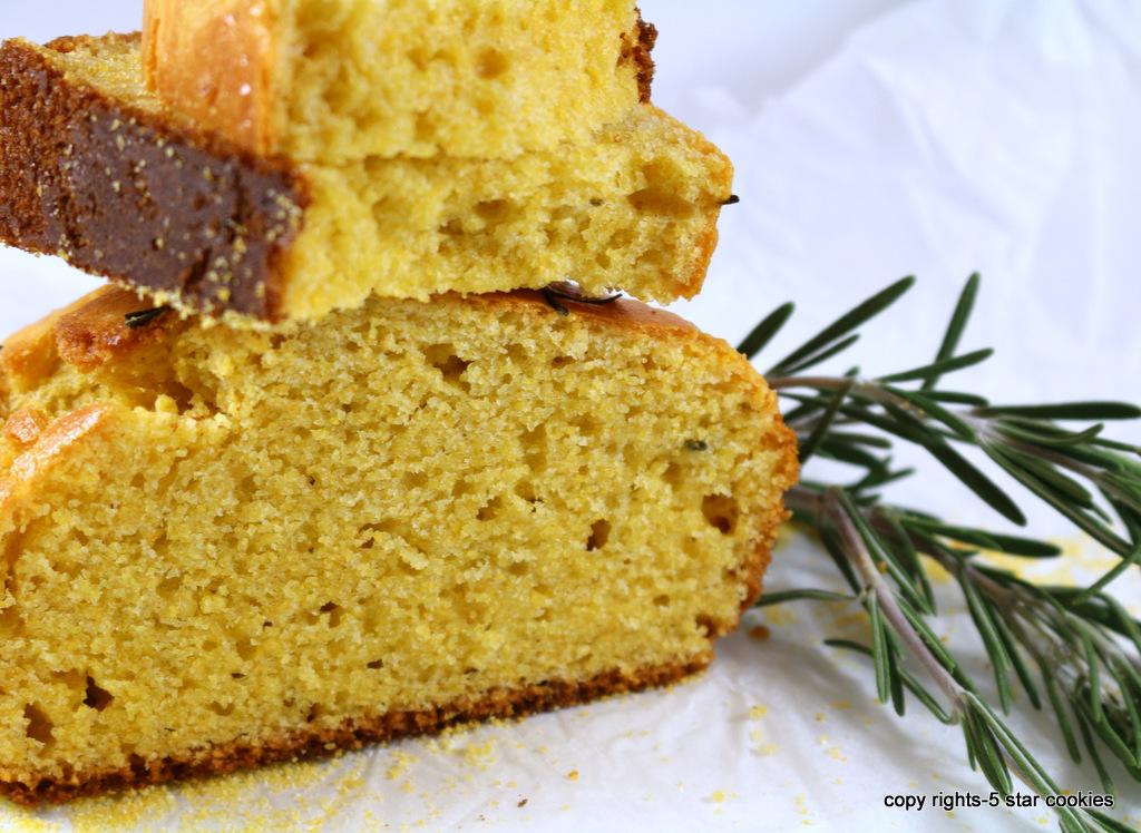 cornbread from the best food blog 5starcookies-golden bread for golden luck