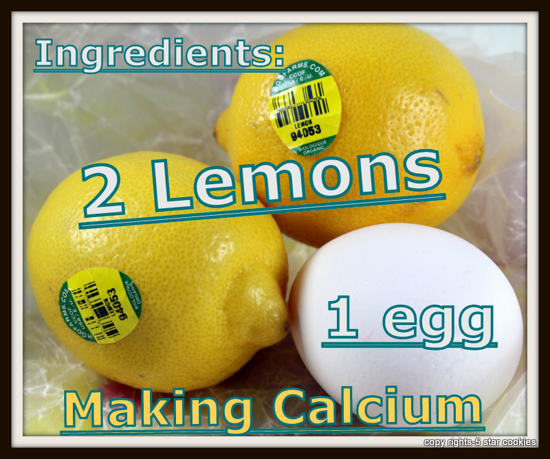Calcium for your body from the best food blog 5starcookies -Ingredients