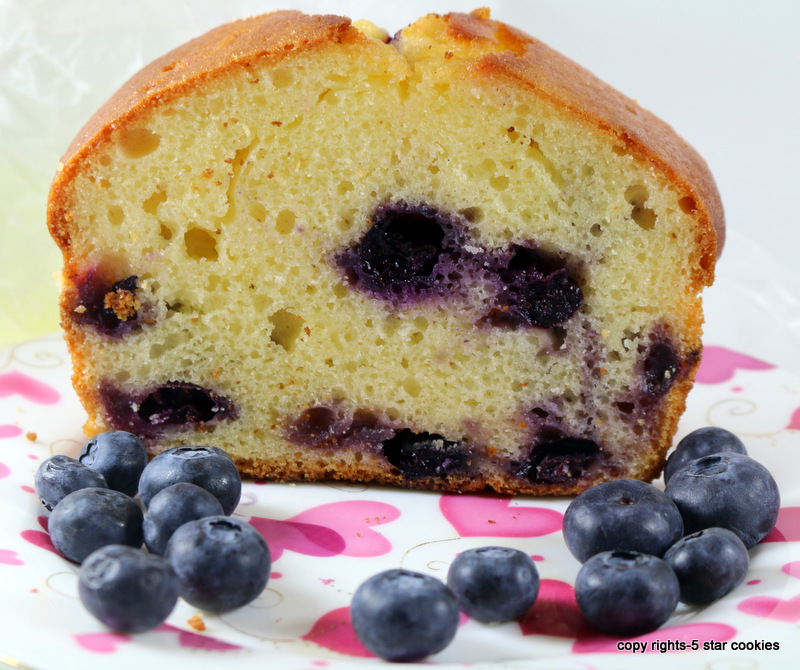 Blueberry Yogurt Loaf from the best food blog 5starcookies-No Matter Where Life Takes You