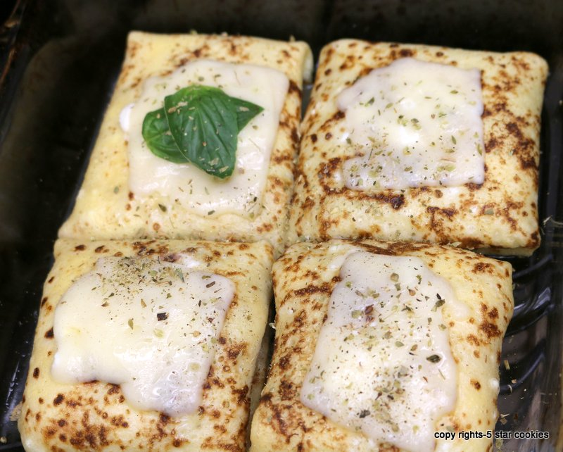 Baked Cheese Protein Crepes from the best 5starcookies -baked crepes