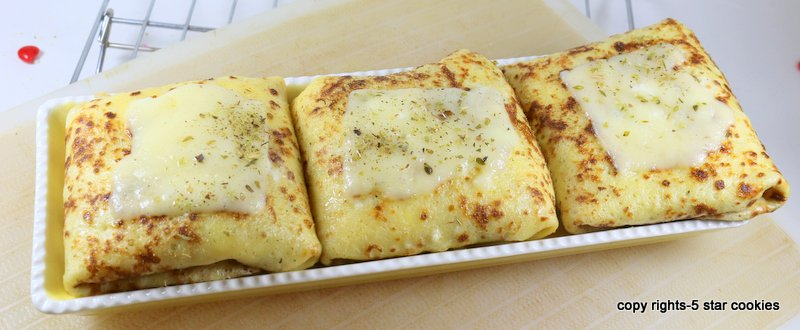 Baked Cheese Protein Crepes from the best 5starcookies