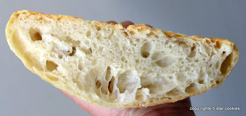artisan bread forget about in 5 min from food blog 5starcookies -slice and enjoy