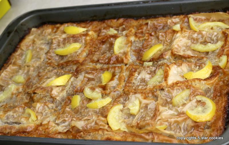 baklava from the best food blog 5starcookies -enjoy the best recipe