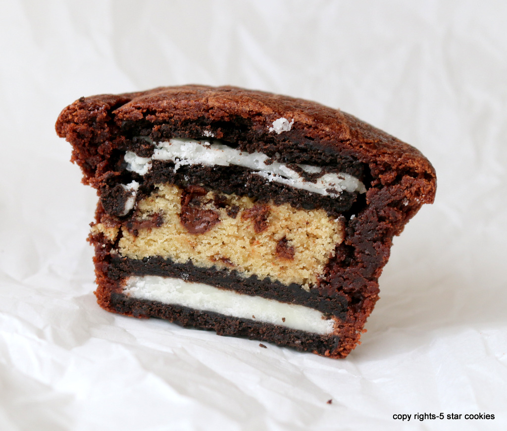 Brownie Genius Oreo Cups from the best food blog 5starcookies-enjoy by yourself