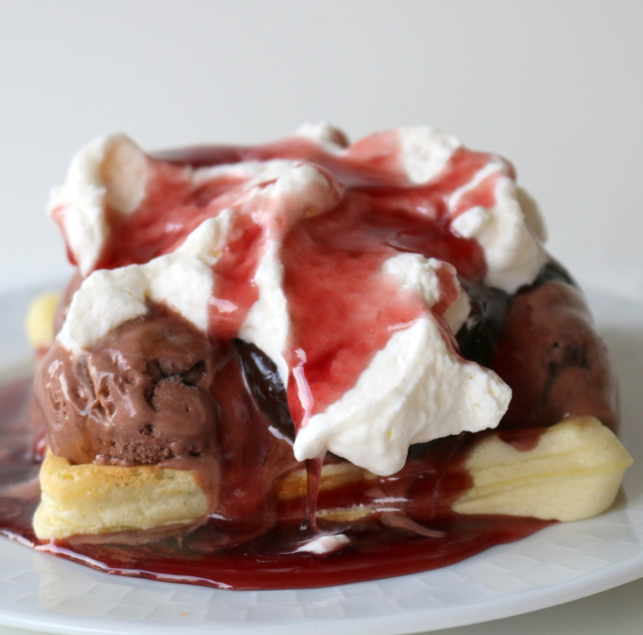 Ice Cream waffles from the best food blog 5starcookies-be kind and share