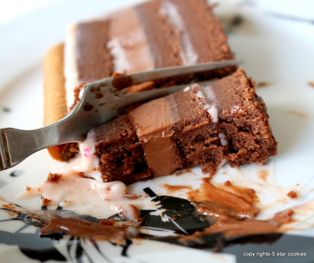 Pink Chocolate Torte from the best food blog 5starcookies-this is the best chocolate torte and pink