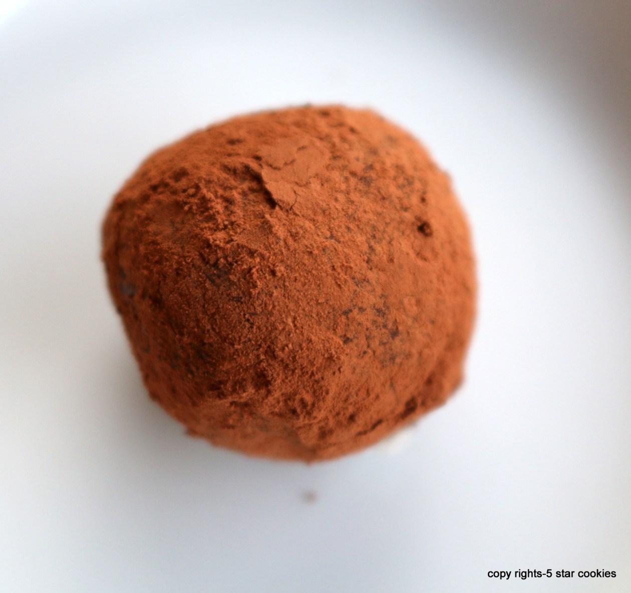 chocolate truffles from the best food blog 5starcookies-enjoy