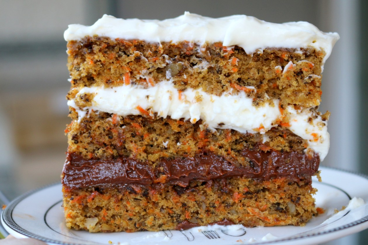 nutella cheese carrot cake from the best food blog 5starcookies