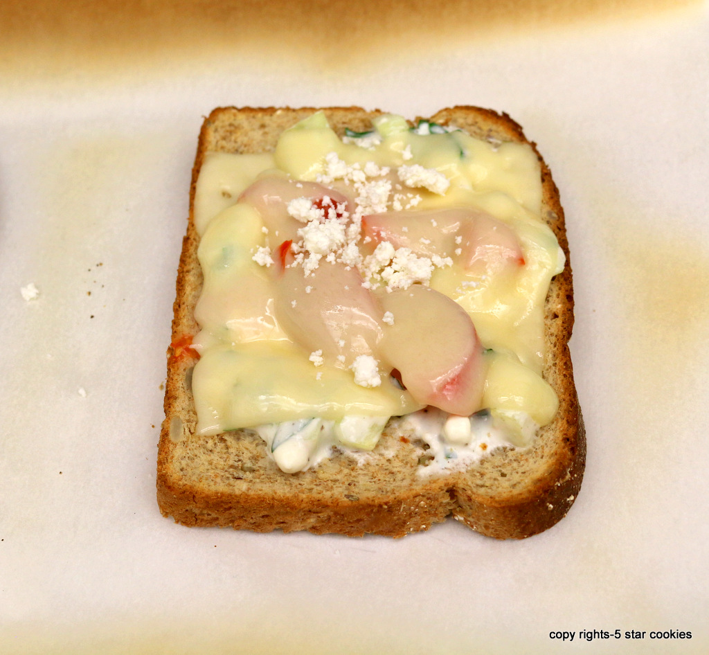 Cream Cheese Sandwich from the best food blog 5starcookies-Ariel's recipe for FAB YOU