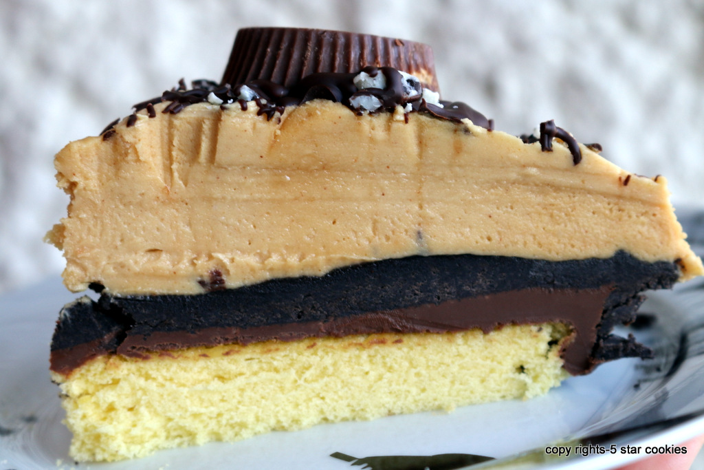 Peanut Butter Oreo Nutella Get Along Cake from 5starcookies