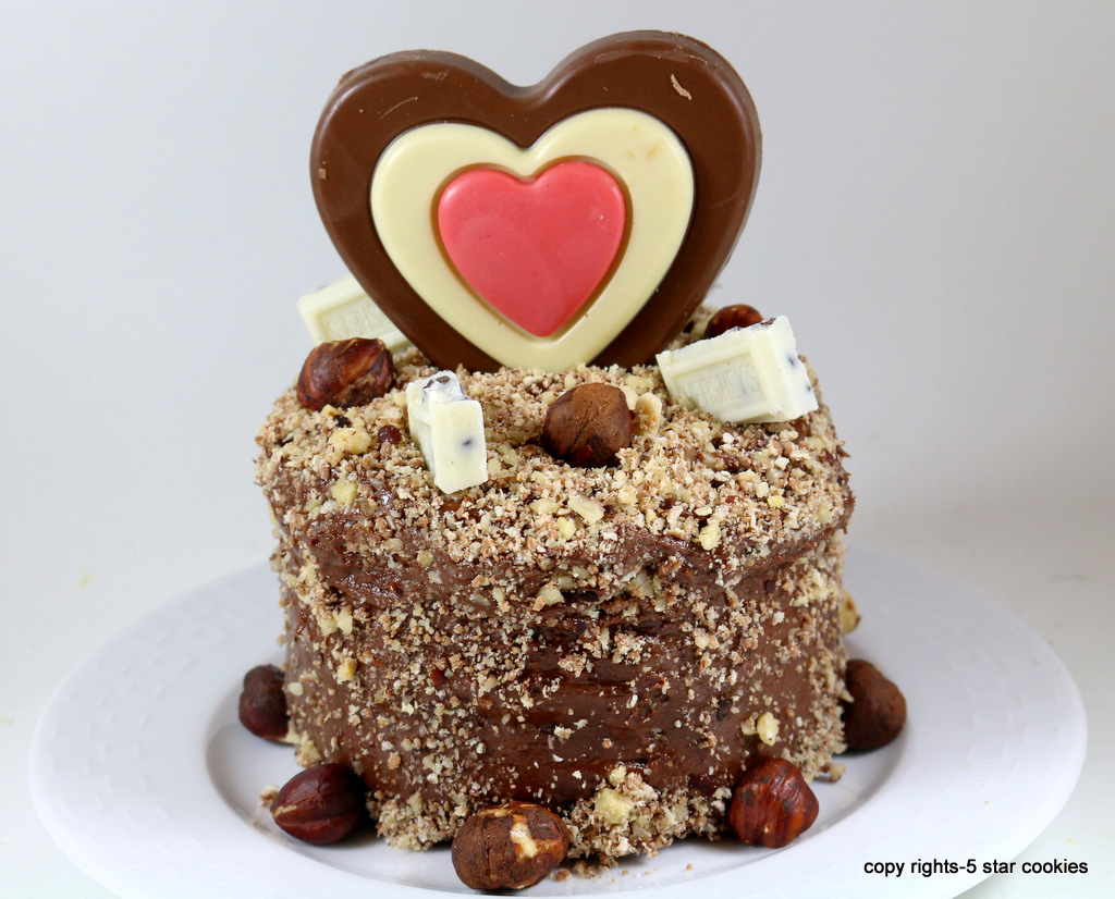 Mini Ferrero Rocher Torte from the best food blog 5starcookies