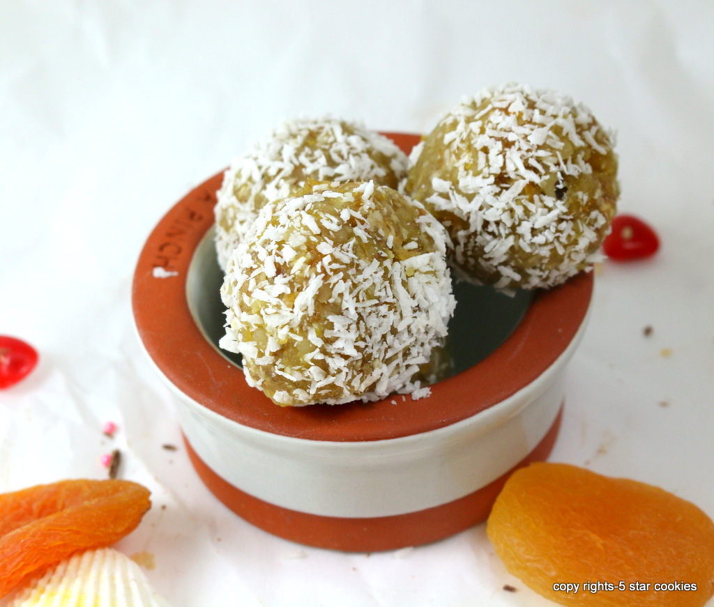 Apricot Coconut Balls from the best food blog 5starcookies-enjoy and share