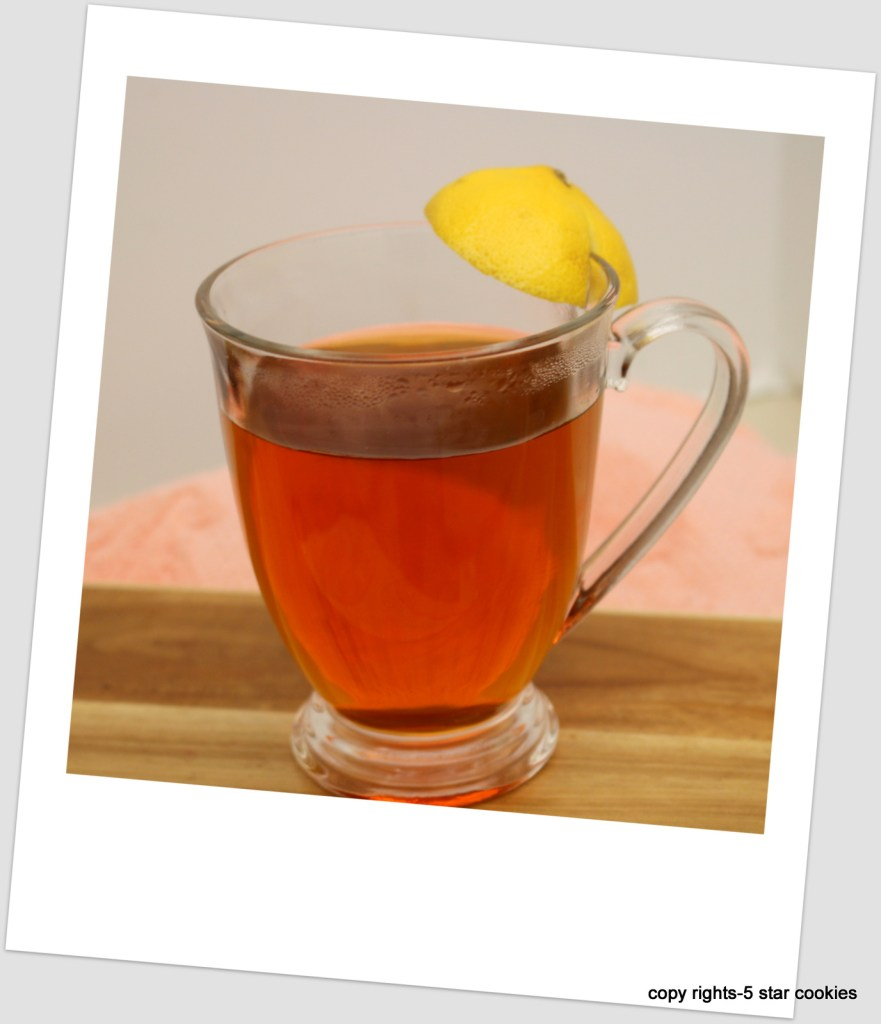 healthy grandmas sugar tea from the best food blog 5starcookies-for sore throat and cough