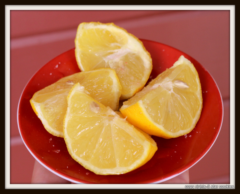 fast and furious number 3 from the best food blog 5starcookies - lemon and salt in your bedroom will help you