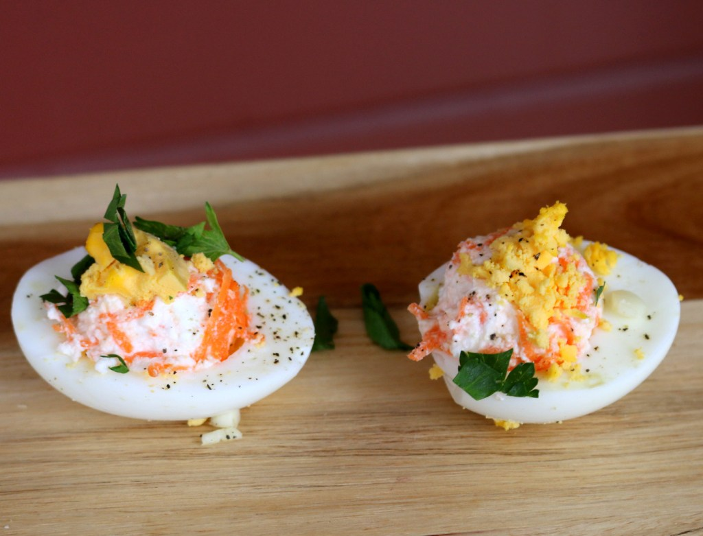 Deviled Barbie Eggs from the best food blog 5starcookies-enjoy and share