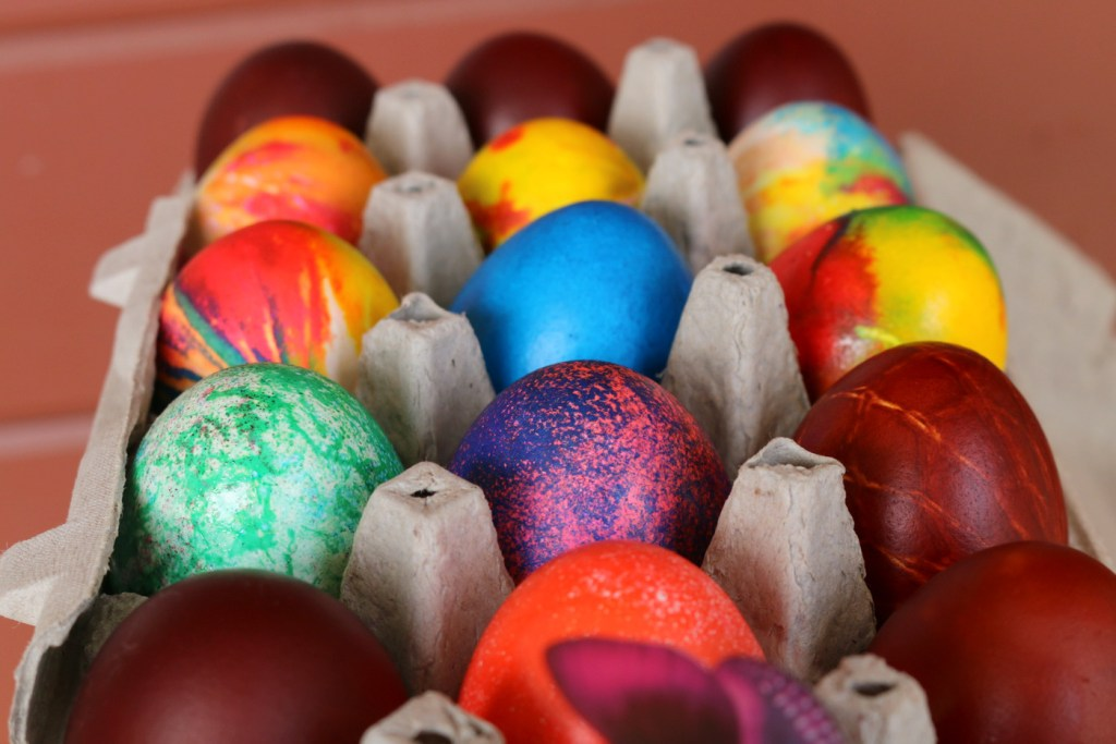 Easter eggs from the best food blog 5starcookies-the best recipe ever for Easter