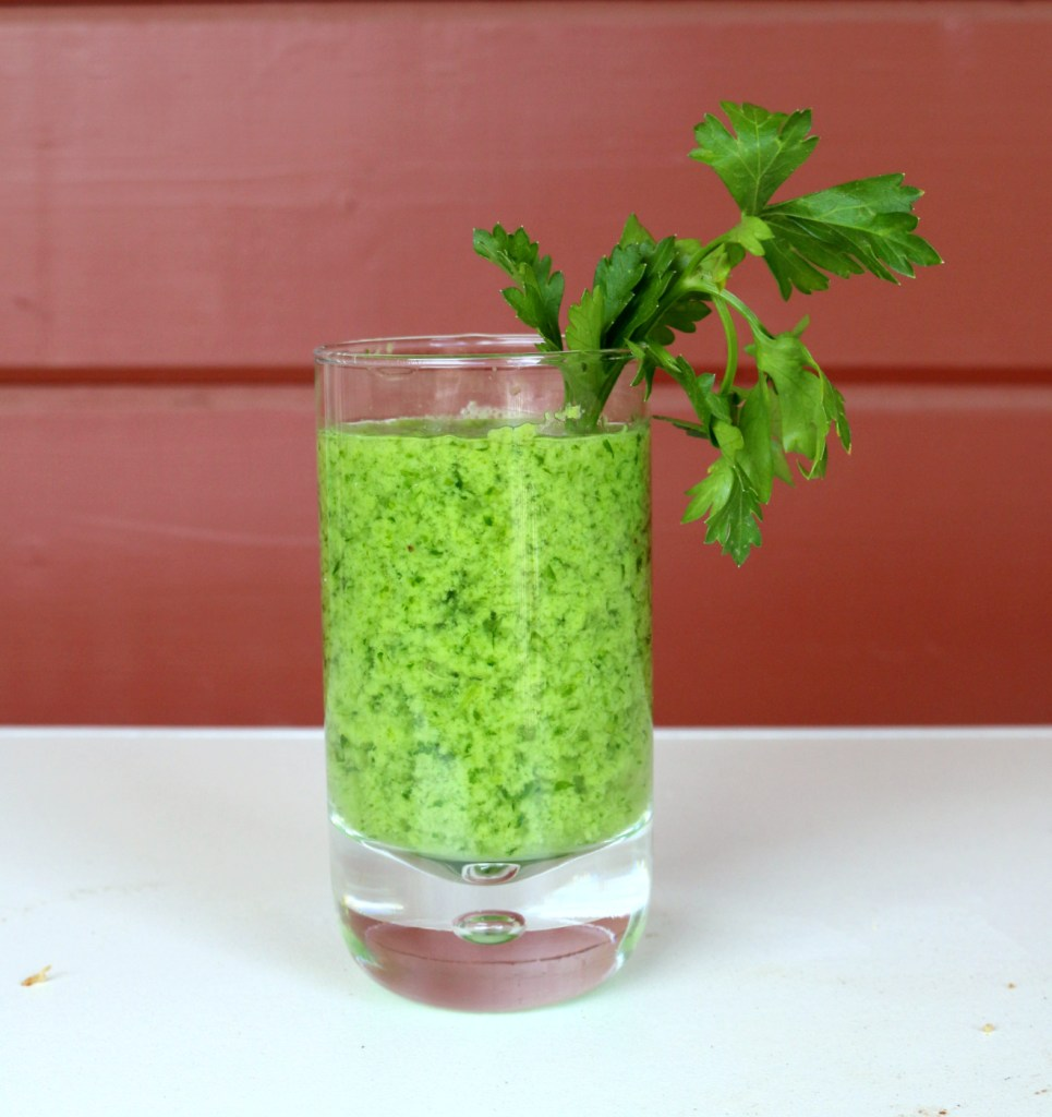 Italian Parsley Banana Lover Drink from the best food blog 5starcookies -enjoy and share this healthy and happy drink from 5 star cookies