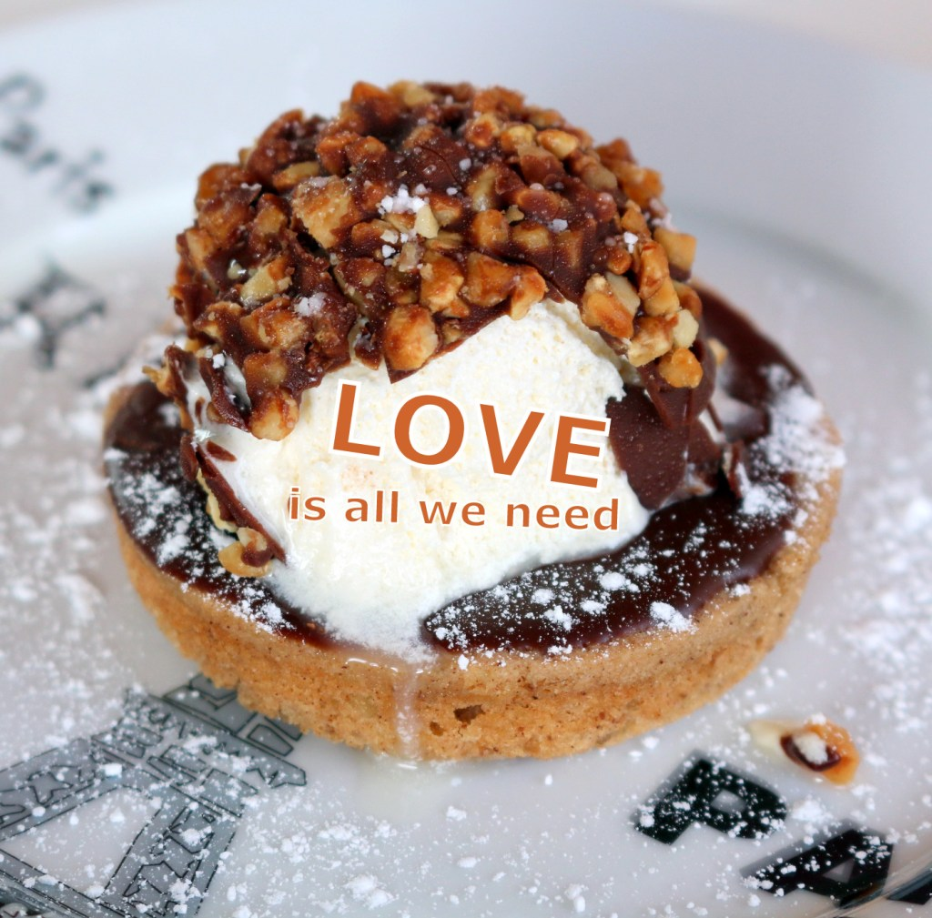 All we need is love and walnut chocolate cake