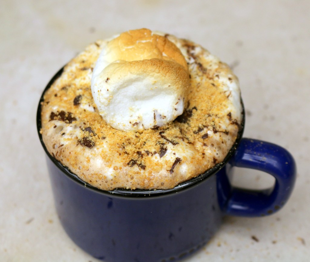 Easy recipe for Nutella Smores Drink from 5starcookies