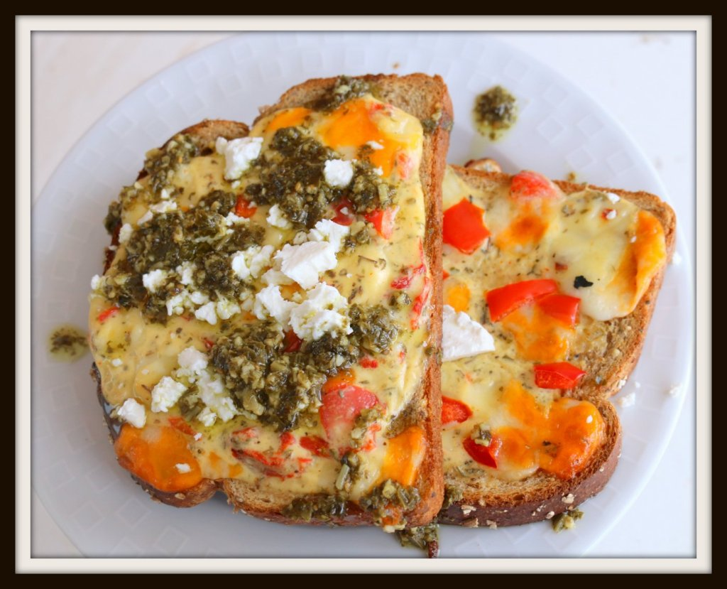 open sandwich-cheese sandwich from 5starcookies