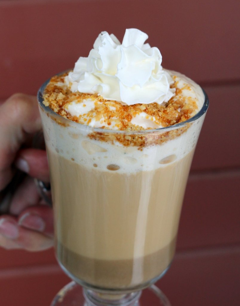 How to make homemade chestnut praline latte