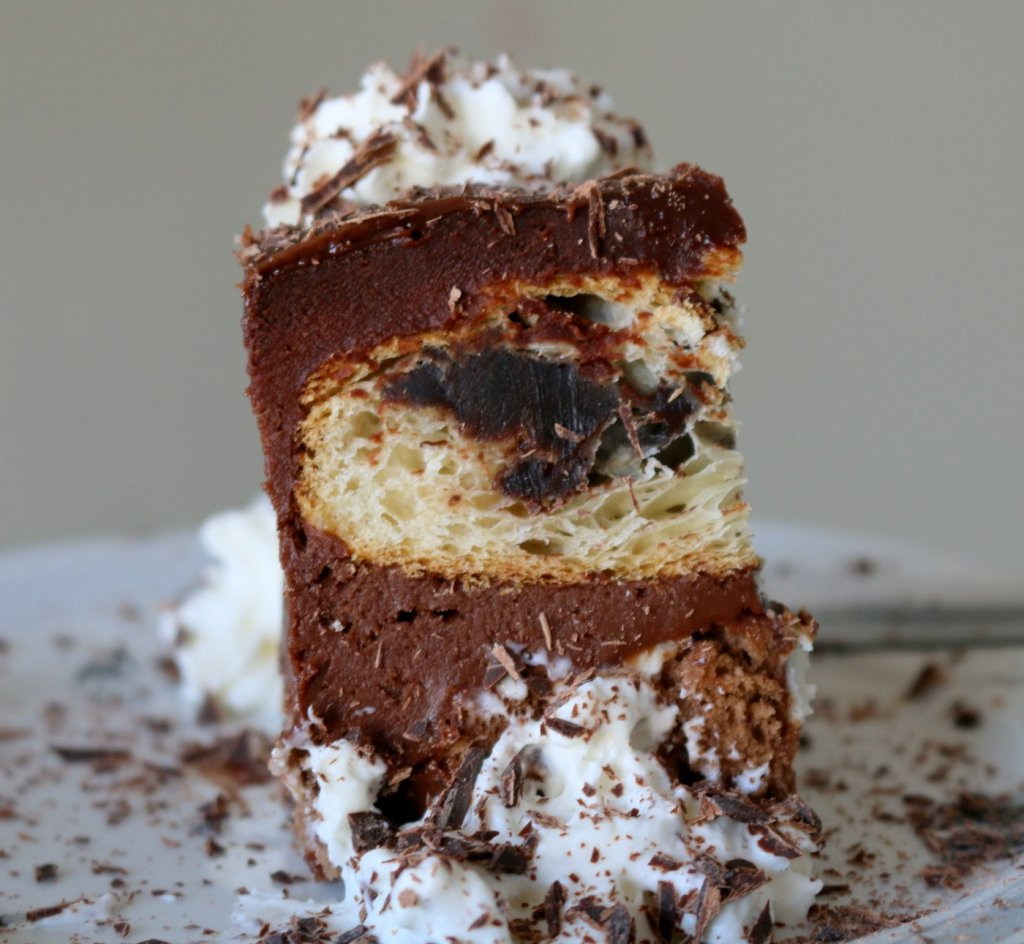 cut into desired sizes  the best chocolate cake