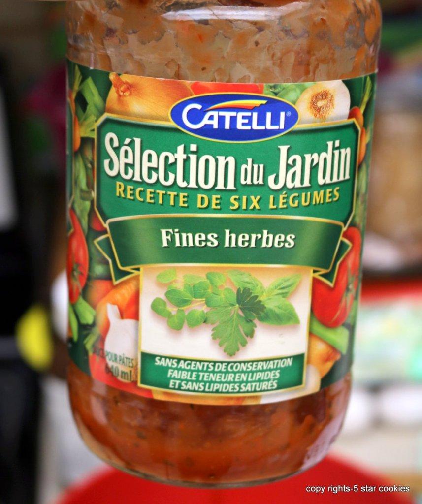 Catelli pasta sauce