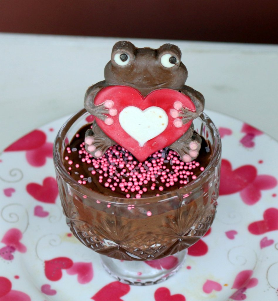 Mocha Nutella mousse from the best food blog 5starcookies-chocolate fix for Valenites Day