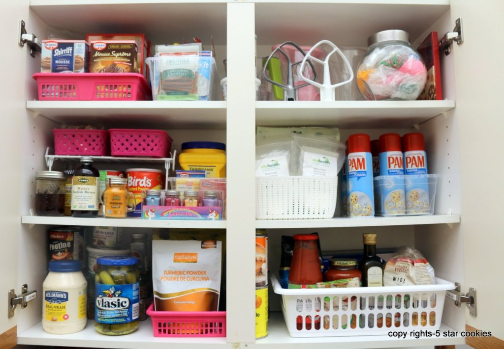 organize your kitchen cabinets - AFTER
