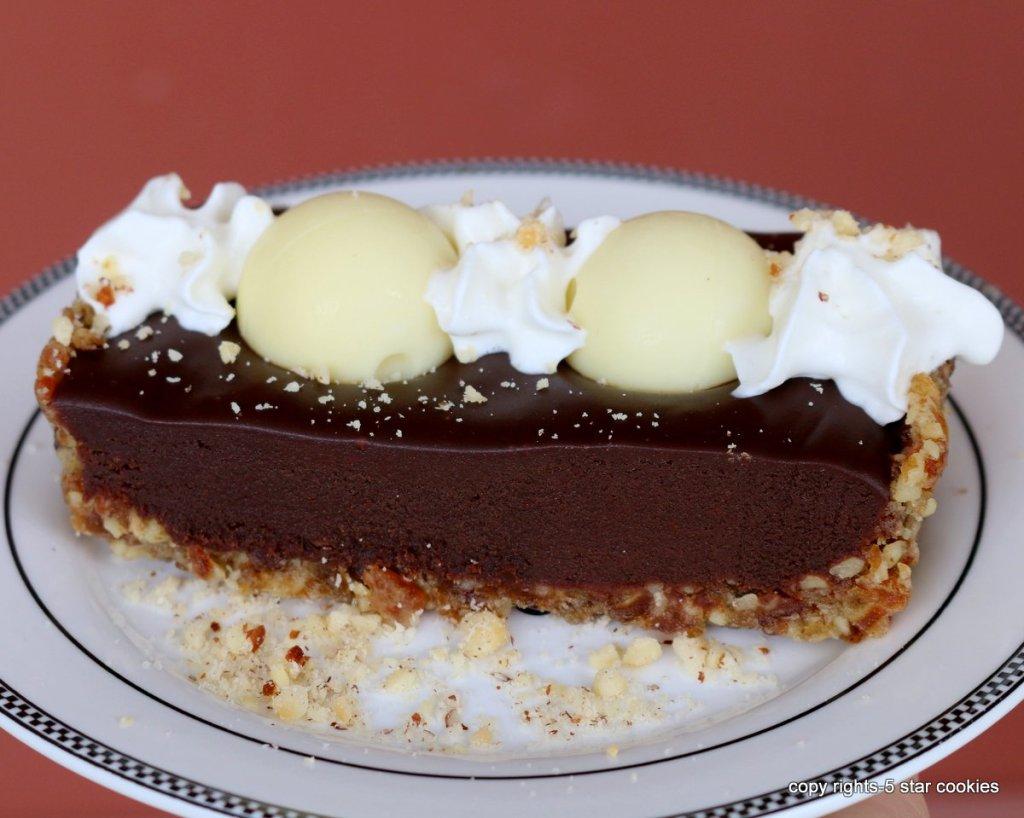 Chocolate Lindor Tart - chocolate heaven recipe for your
