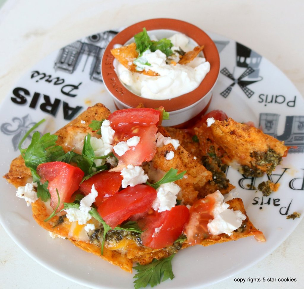 cheese diet nachos-the best sports lovers food recipe for watching tennis or football