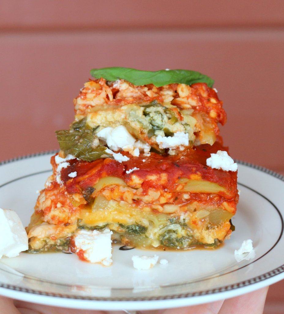 ZUCCHINI LASAGNA 9 x 5 from the best food blog 5starcookies