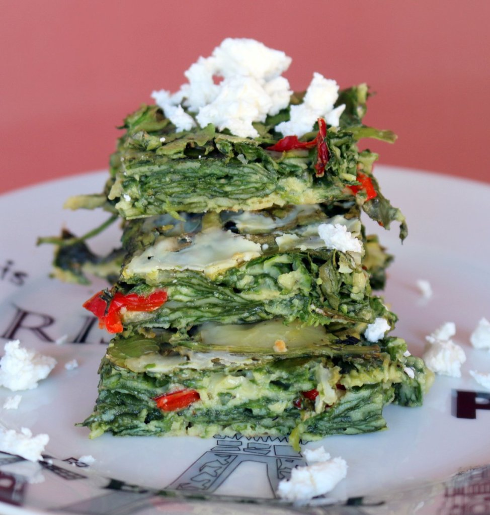 Healthy Spinach Cheese breakfast
