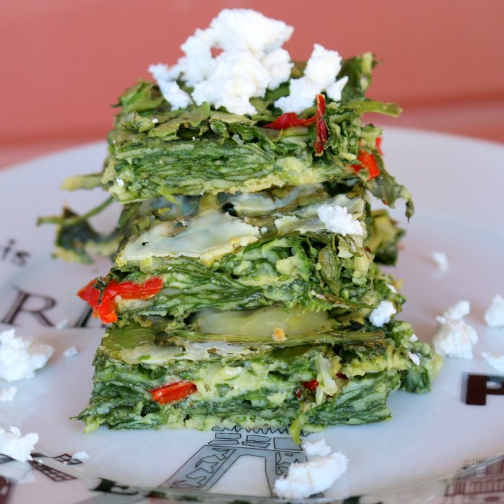 Healthy Baked Spinach - I Am Enough