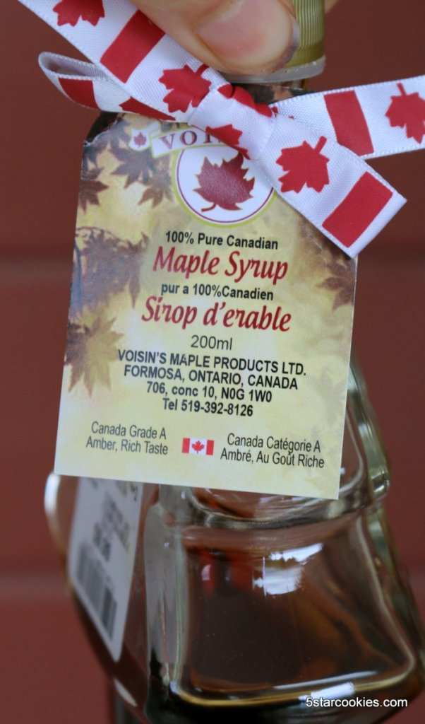 maple syrup as topping for toast