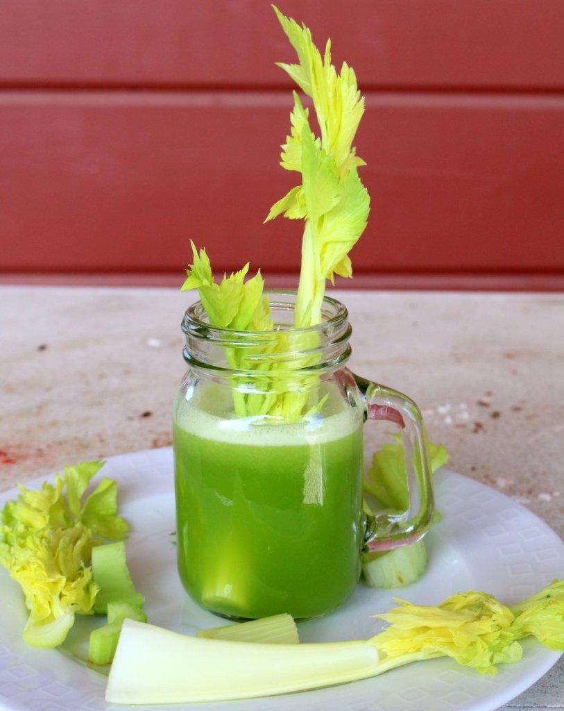 Celery LEMON juice is healthy magical drink