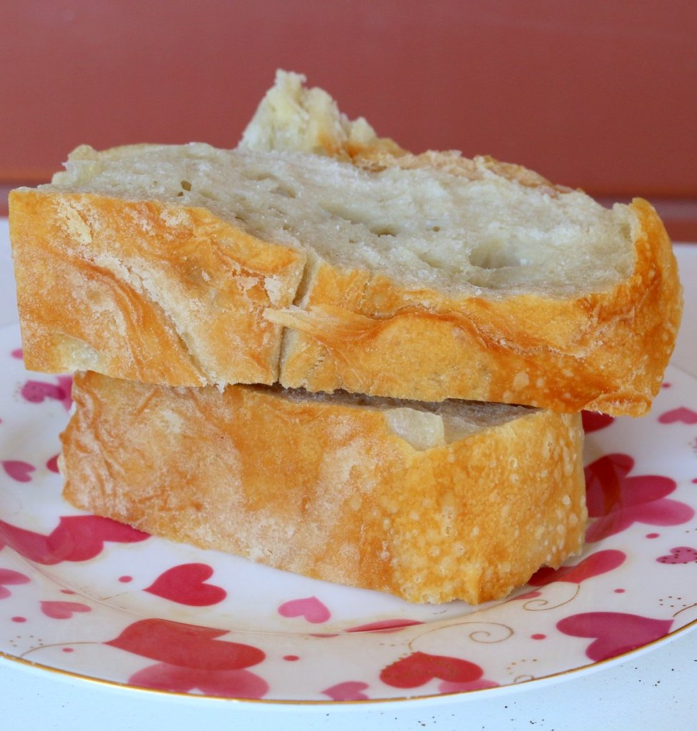 enjoy and share homemade no knead bread