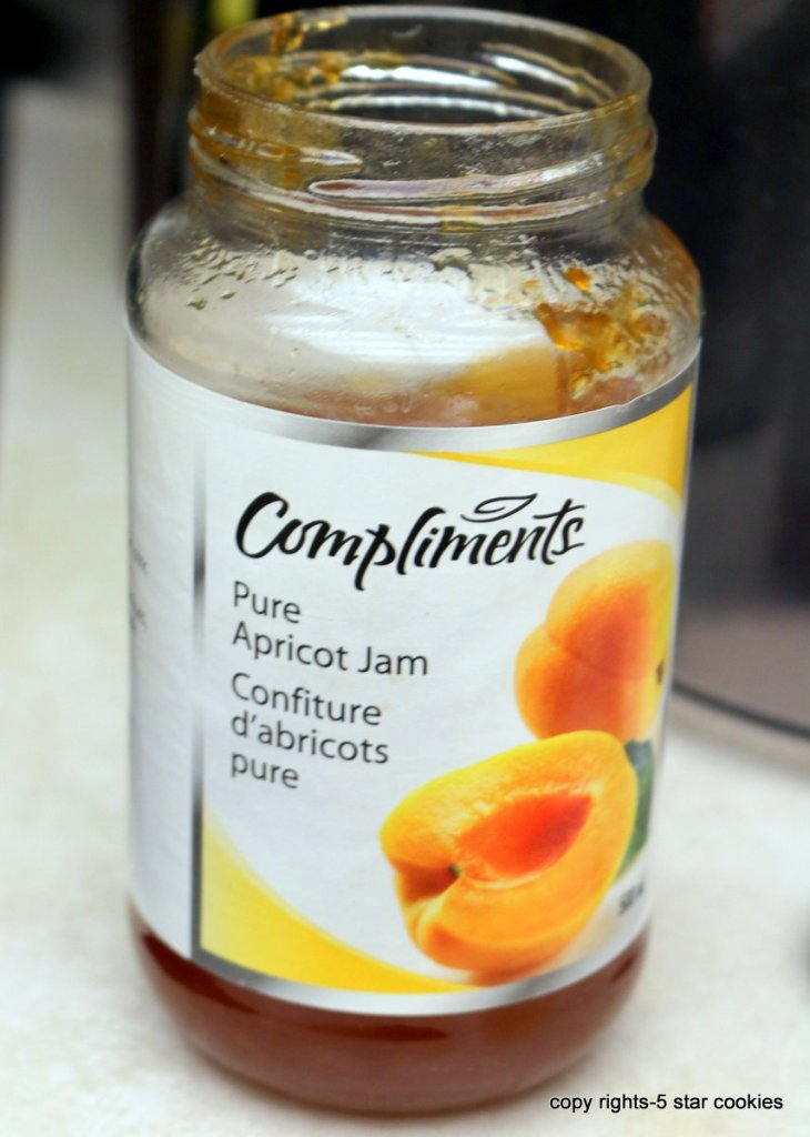 apricot jam I used