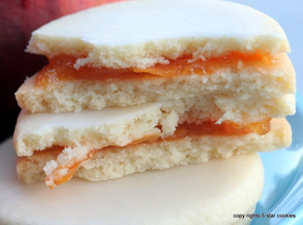 empire apricot cookies - easy recipe for Fathers day