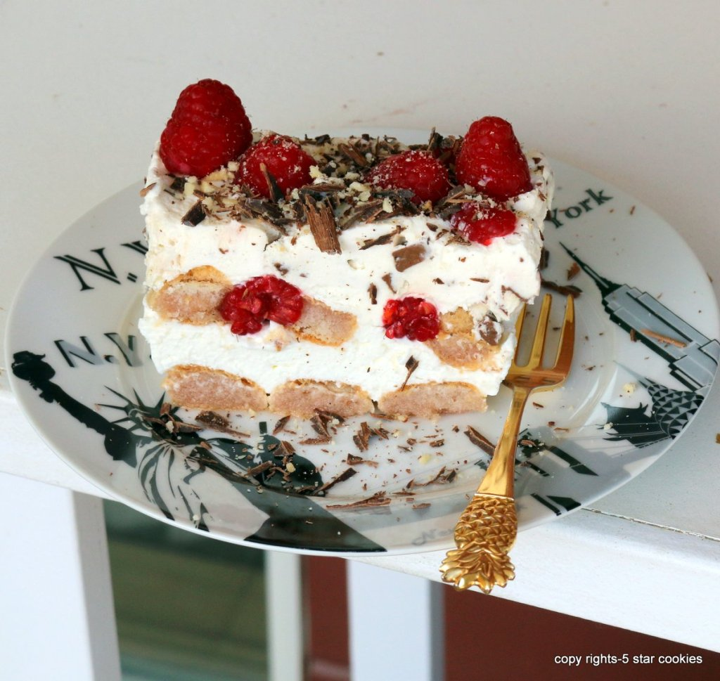 no bake raspberry dessert