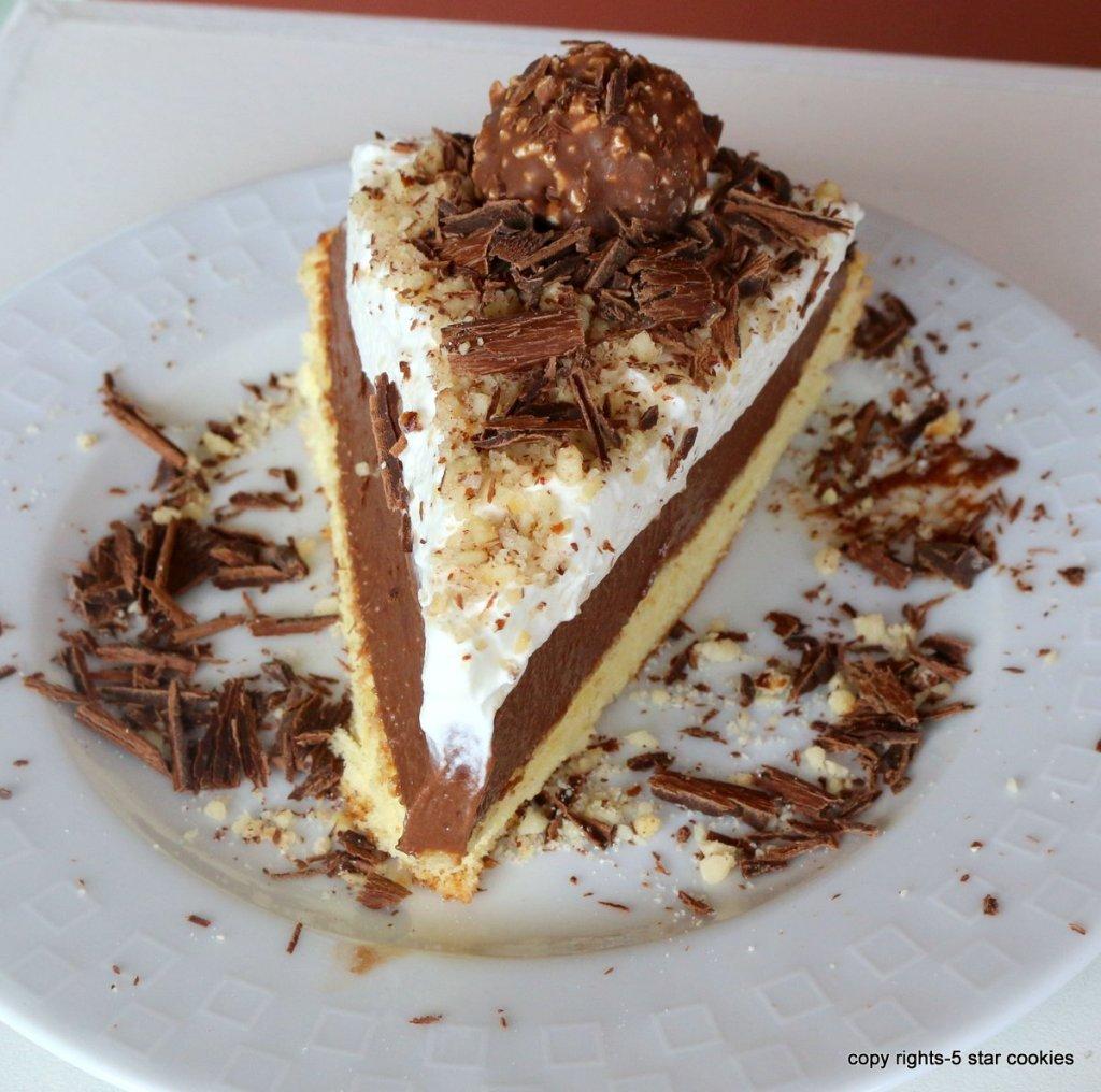 Easy Sponge Ferrero Cake