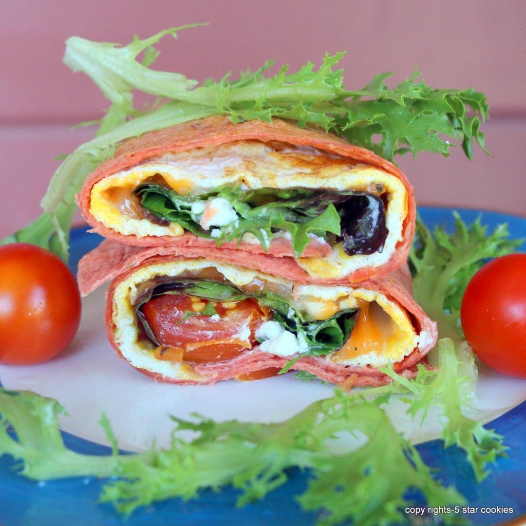 Cheese Tortilla Sandwich
