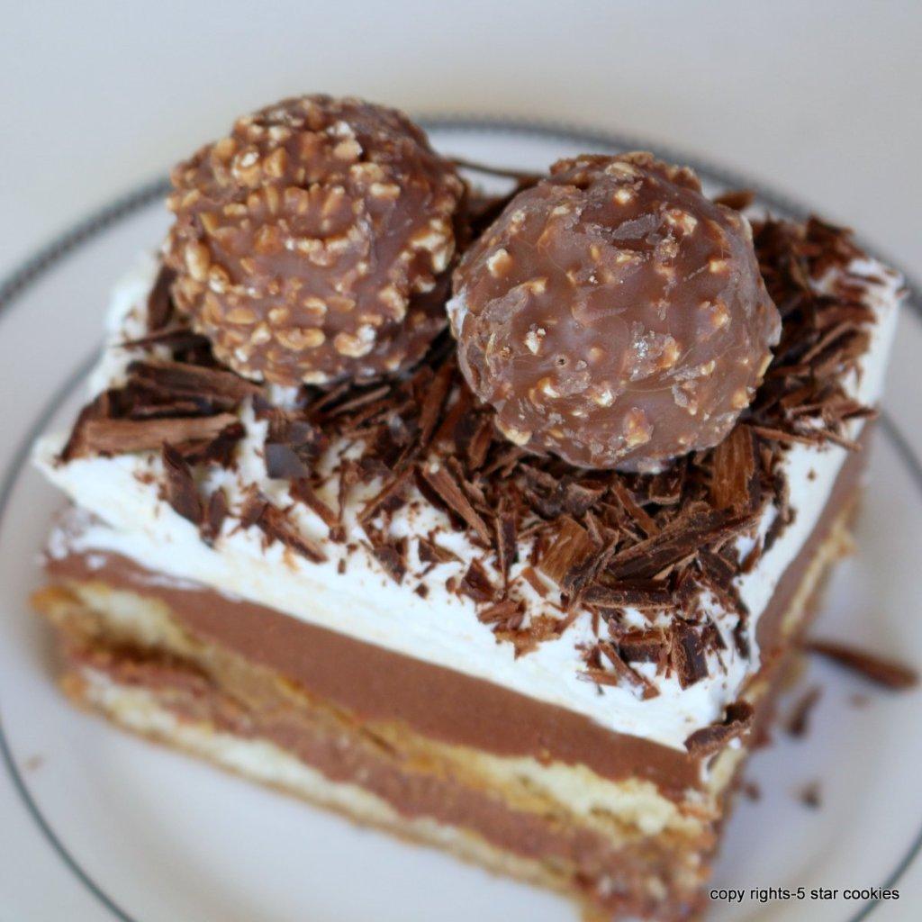 ferrero tiramisu cake
