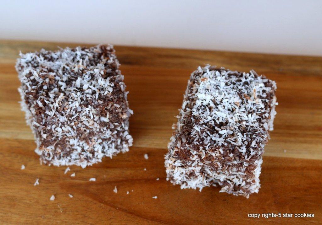 Lamington Australian Coconut cake