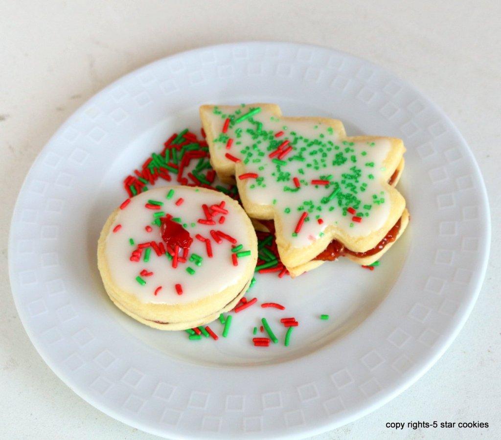 Chrismtas Empire Nutella Cookies