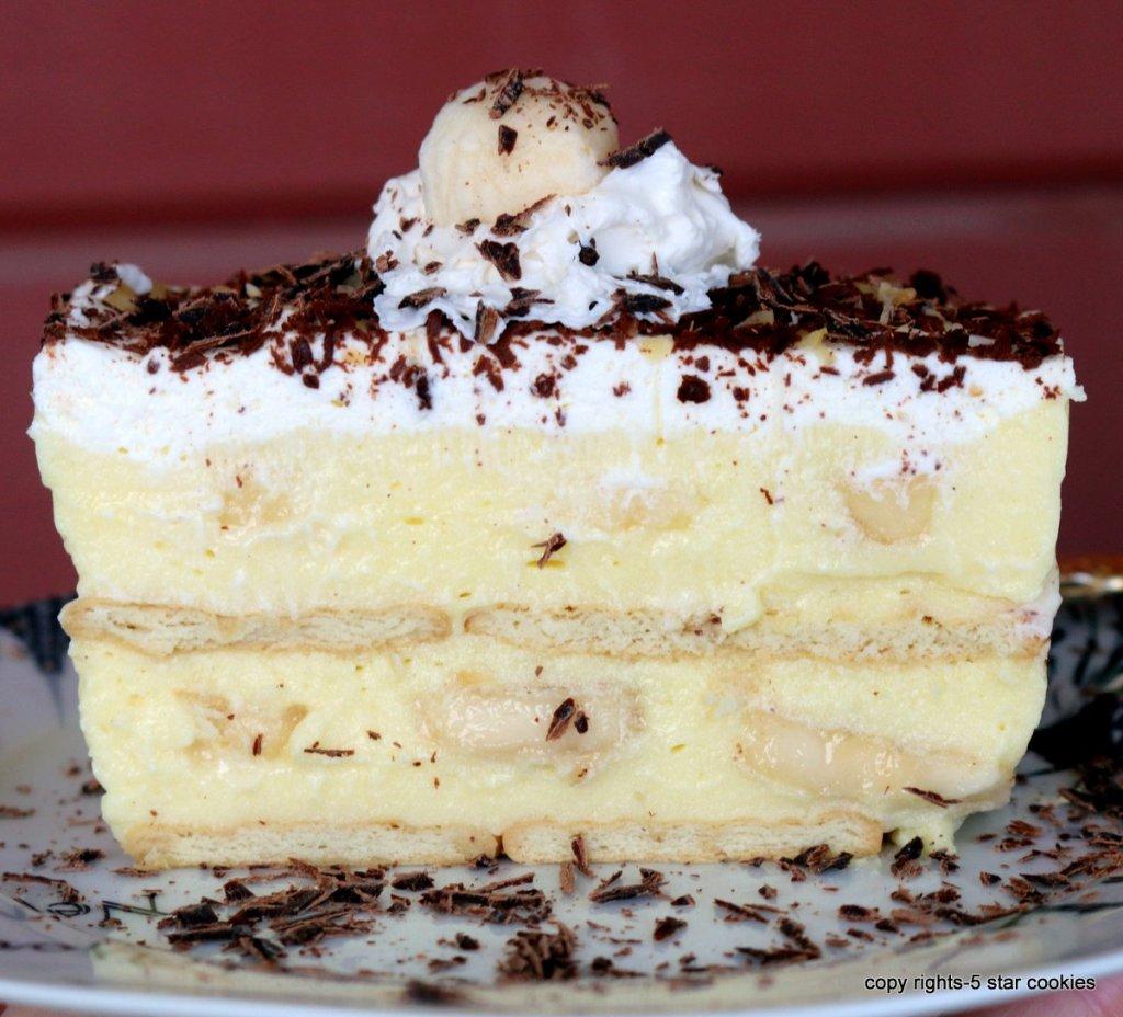 banana cake dessert