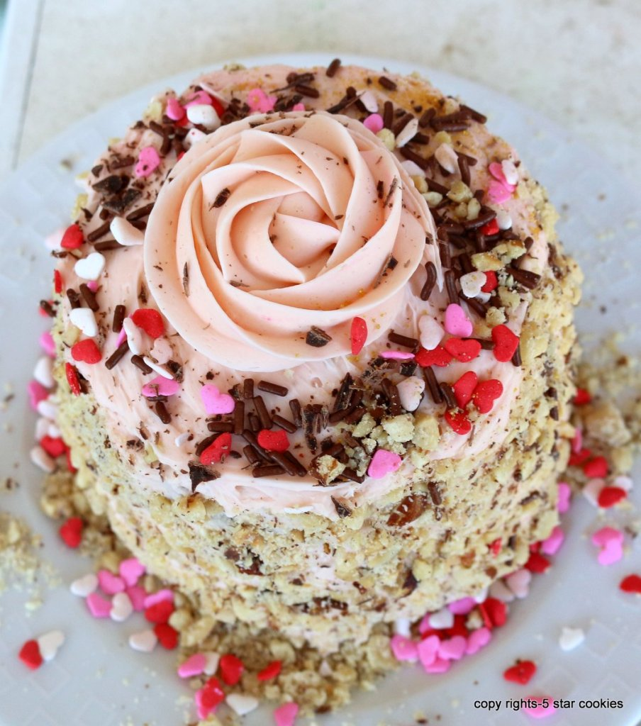 Ferrero Cake for Valentines