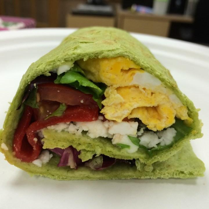 Green Veggie Wrap