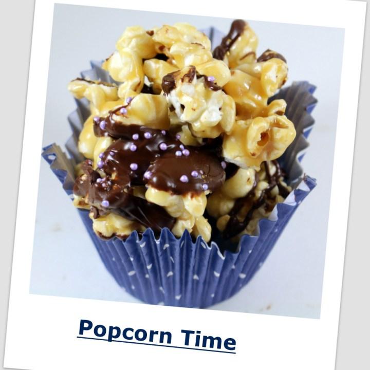 Chocolate Skor Popcorn