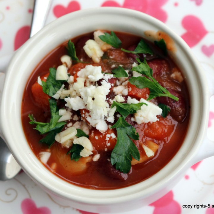 Minestrone Soup - Soup off 11lbs in 6 days